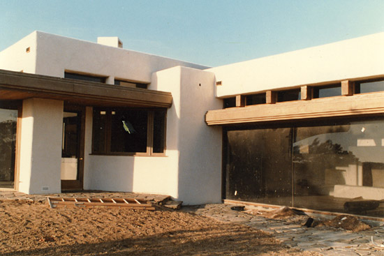 averill residence under construction.